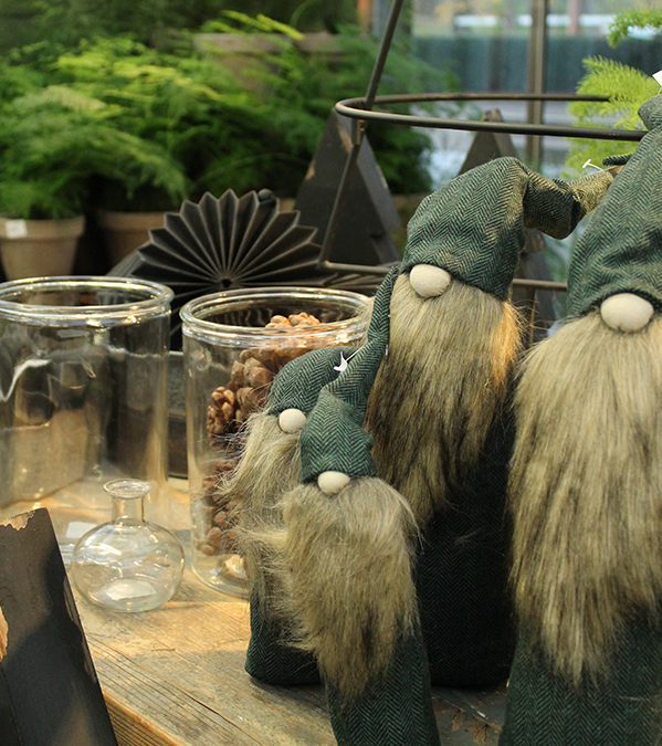 Julmarknad i trädgårdsföreningen